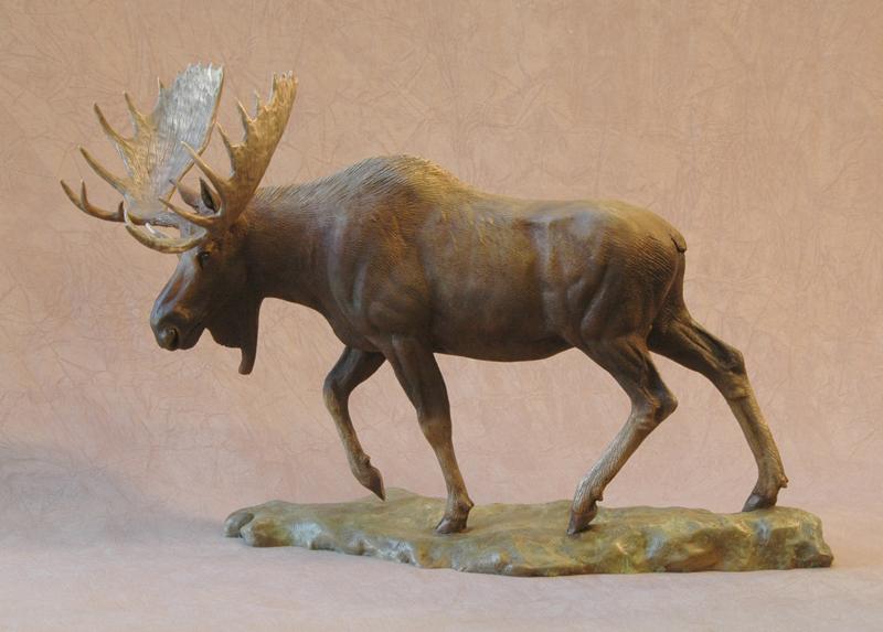 Stately Presence - Moose