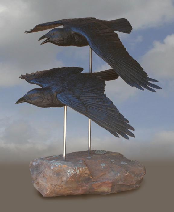 Courtship Ravens