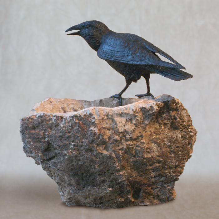 Raven on Basin