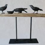 Ravens on Beam, Wok
