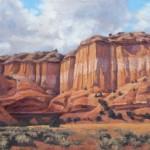 Christ in the Desert Cliff