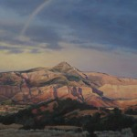 Rainbow Over Ghost Ranch