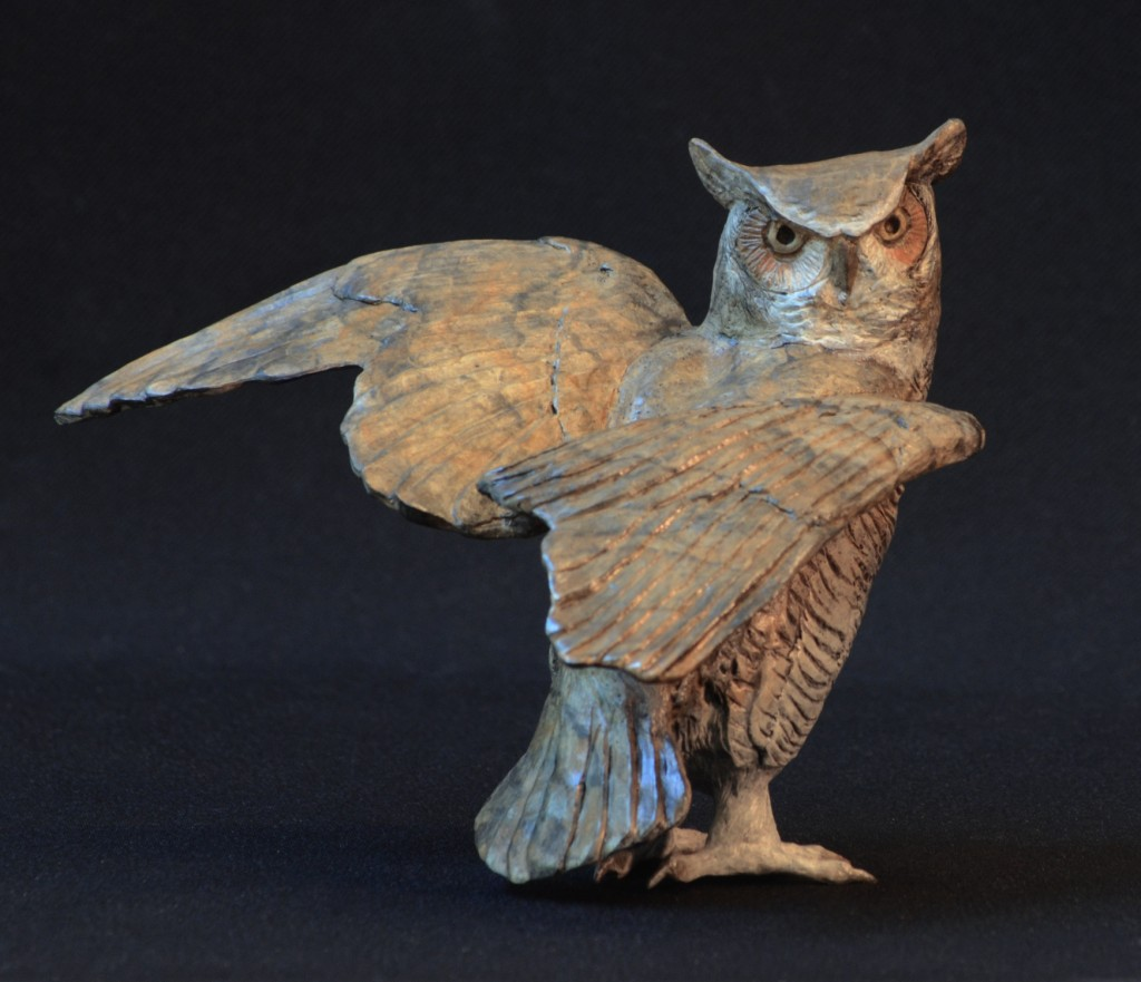 Small Horned Owl III