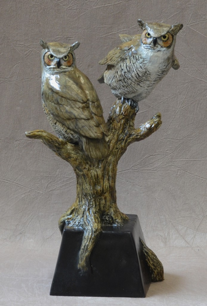 Horned Owls II